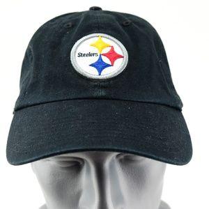 47 Brand Pittsburgh Steelers Black Cap NFL Hat